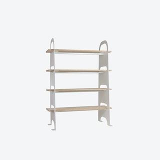 SCALA Bookstand in White