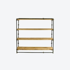 TONY III Pipe Bookcase