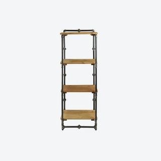 TONY II Pipe Bookcase