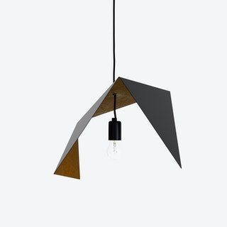 DUO BIRD II Pendant Light in Black Rust