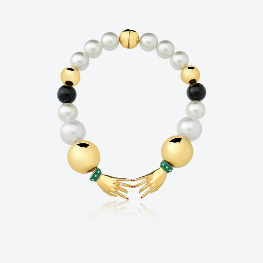 JEANNE MO Necklace in Gold