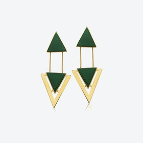 TWO PIECES Earrings in Gold