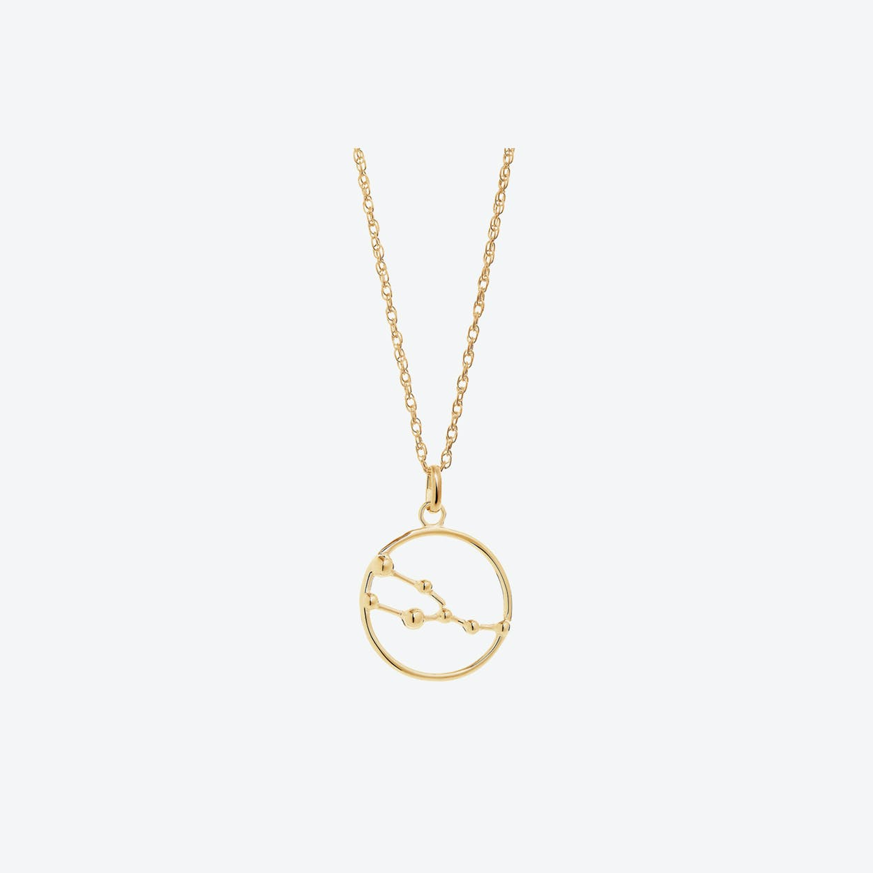 Gold Taurus Astrology Necklace By Yasmin Everley Jewellery Fy