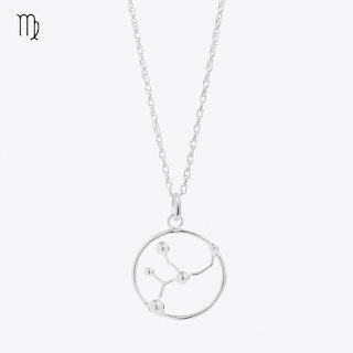 Virgo Astrology Necklace