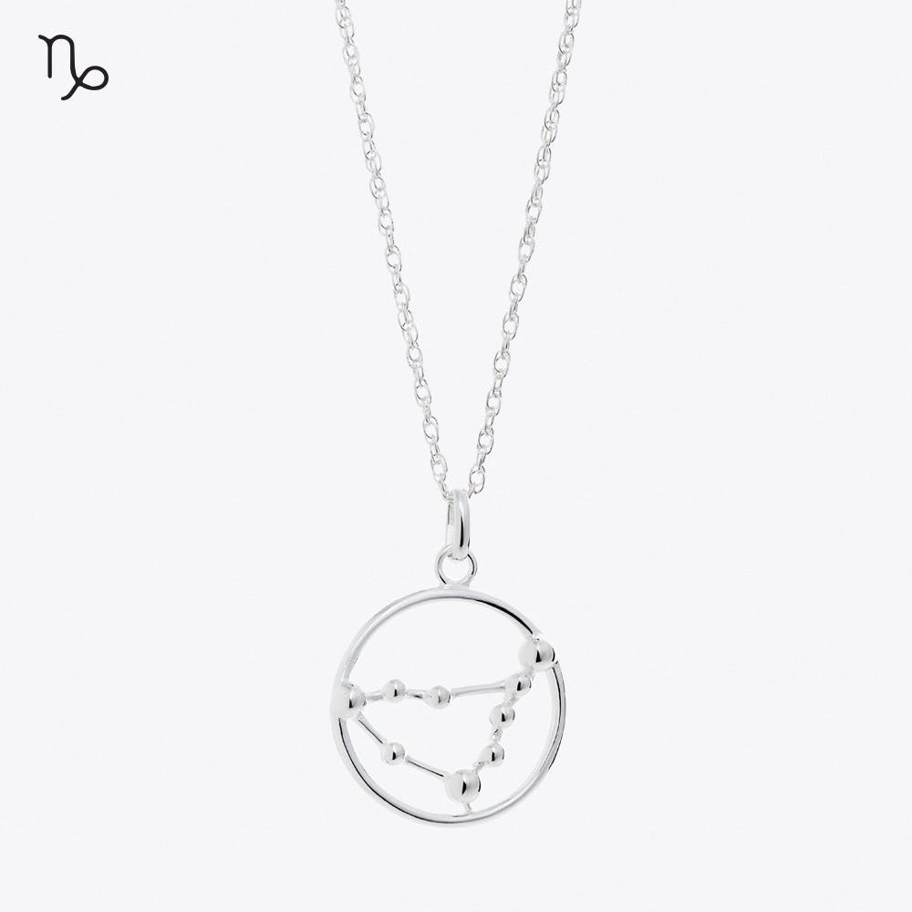 Capricorn Astrology Necklace