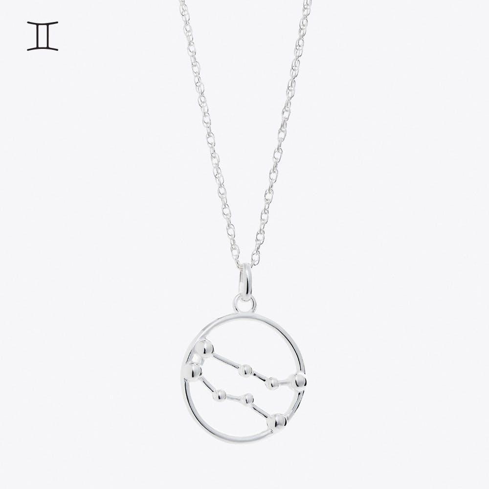 Gemini Astrology Necklace