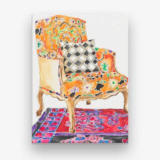 Anna's Chair Canvas Print