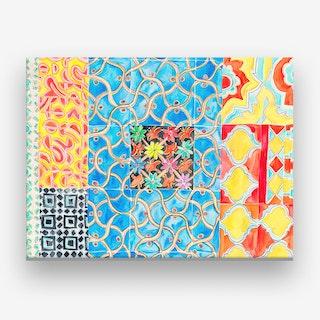 Patterned Tiles Canvas Print