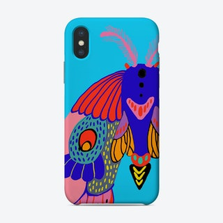Butterfly Blue Phone Case