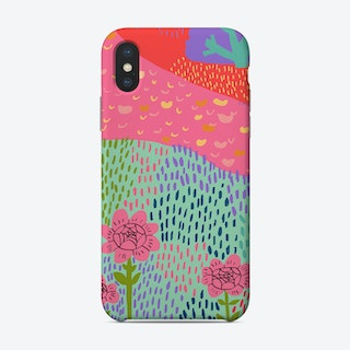Pink Flowers Phone Case