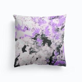 Lavand Black And White Cushion