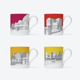 1930s Modernist Seaside Homes  - set of 4