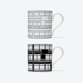 Trellick Elevation Mugs - set of 2