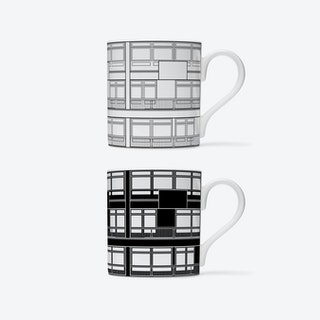 Trellick Elevation Mugs - set of 2