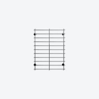 Grid.02 Shelf in Black
