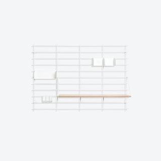 LOOPHOLES Shelving Package.01 in White