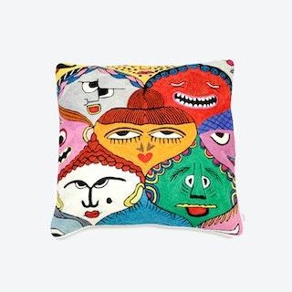 Faces Pillow