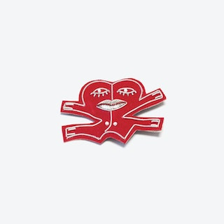 Dancing Heart Brooch