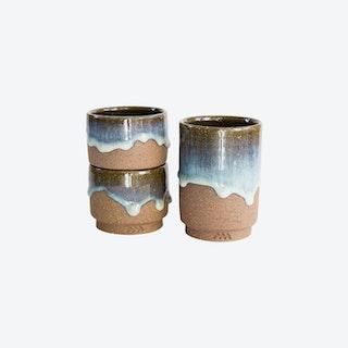 Matsushiro-yaki Cups (set of 3)