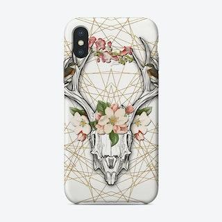 Boho Skull Phone Case