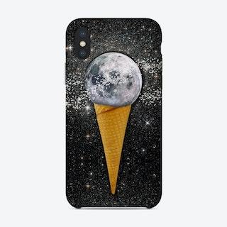 Moon Ice Cream Phone Case