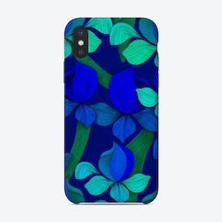 Jardin Alexandre Blue Phone Case