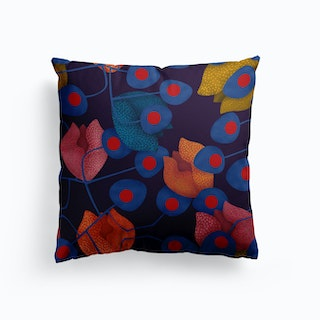 Tip Top Dark Blue Cushion