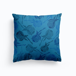 Twig Blue Cushion