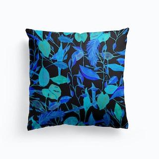 Last Sunday Blue Cushion