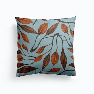 Apart Blue Cushion