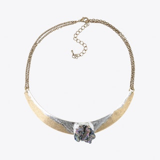 Oil Slick Semi Precious Choker