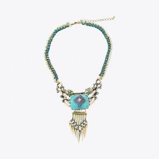 Bright Deco Style Necklace