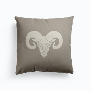 Aries Canvas Cushion