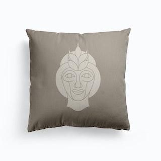 Virgo Canvas Cushion
