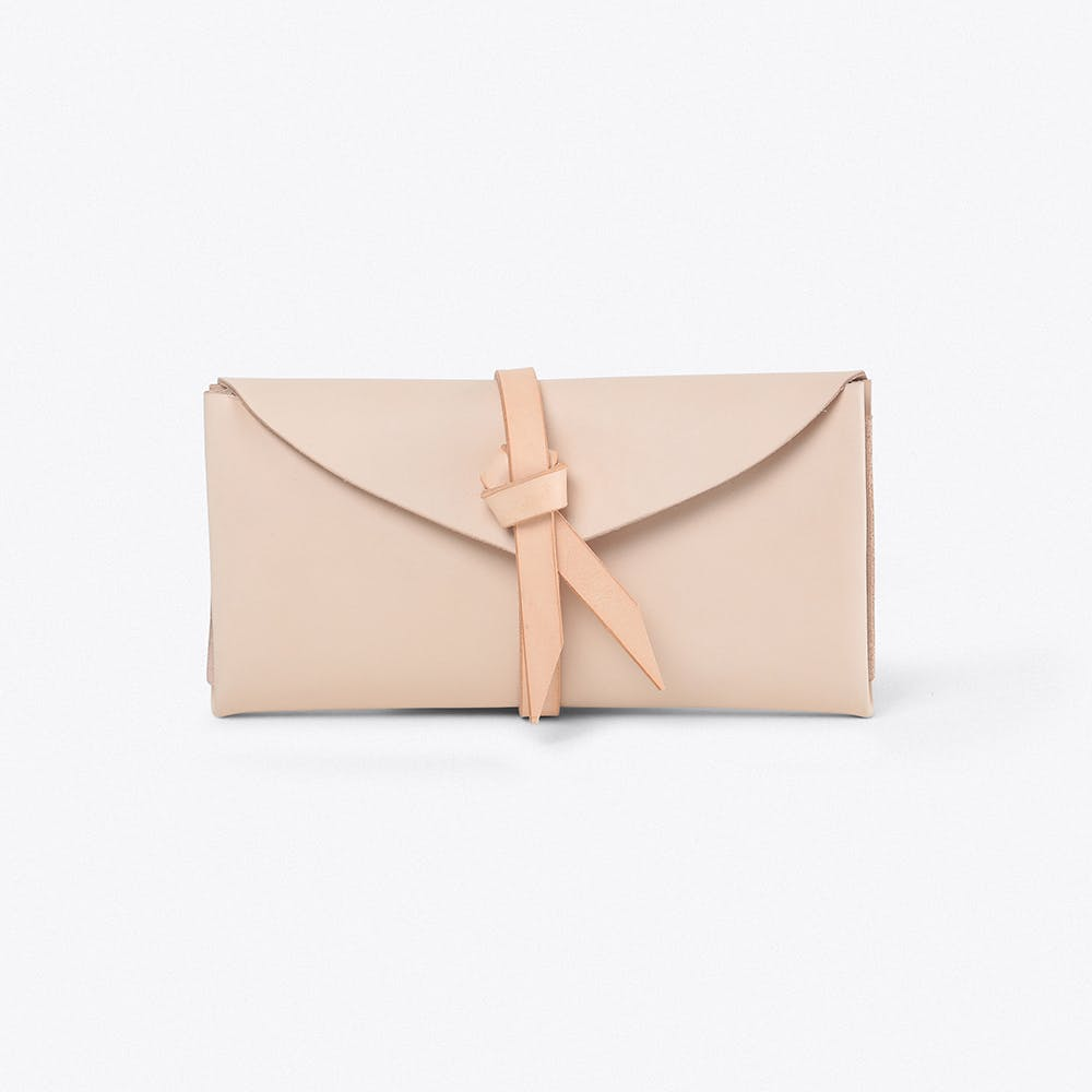 Ori Wallet Long in Nude