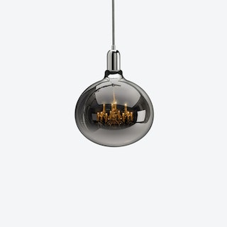 King Edison Grande Chrome Pendant Light