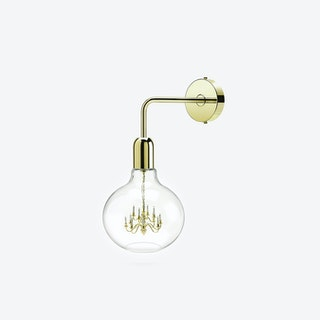 Gold King Edison Wall Lamp