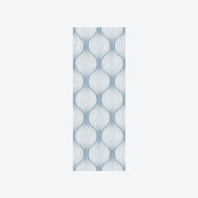 Geometric Bulbs Wallpaper in Navy