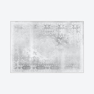 Kashan Remix Rug in White