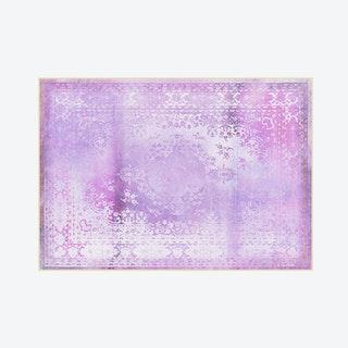 Kashan Remix Rug in Purple