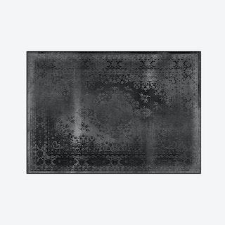 Kashan Remix Rug in Black