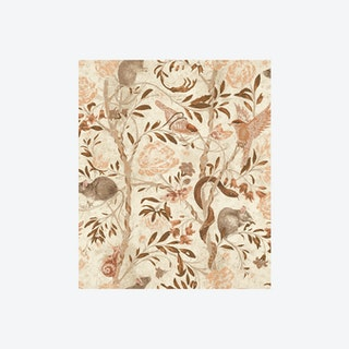 Back to Nature Wallpaper in Parchment