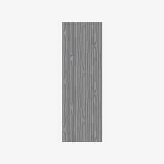 Woodgrain Outline Wallpaper in Grey & Pink