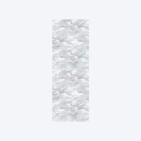 Clouds Wallpaper in Pale Grey