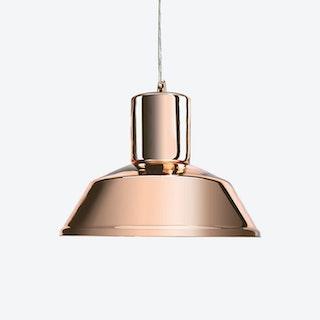 Factory Pendant Light in Mirror Copper