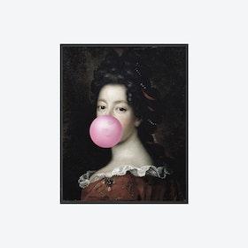 Bubblegum Portrait - 1 Canvas Print