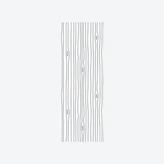 Woodgrain Outline Wallpaper