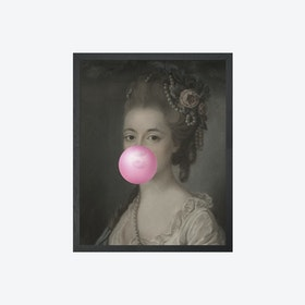 Bubblegum Portrait - 5 Canvas Print