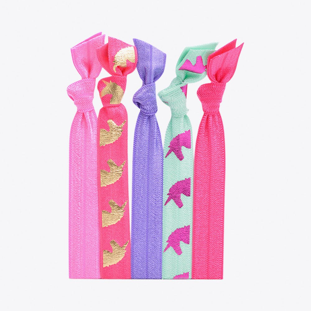 Unicorn Hair Ties