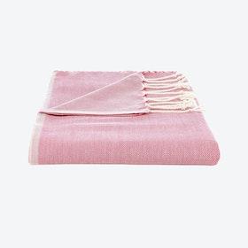 Turkish Towel Plain in Pink